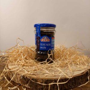 Olives noires sechée au four (180g)