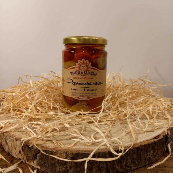 Peperoncini farçis au thon (280g)